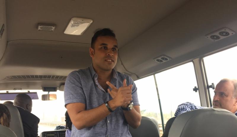 Samir Ibrahim, CEO of SunCulture