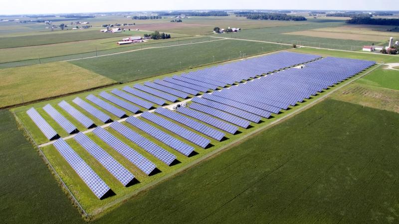 Drone Pics of Solar Field